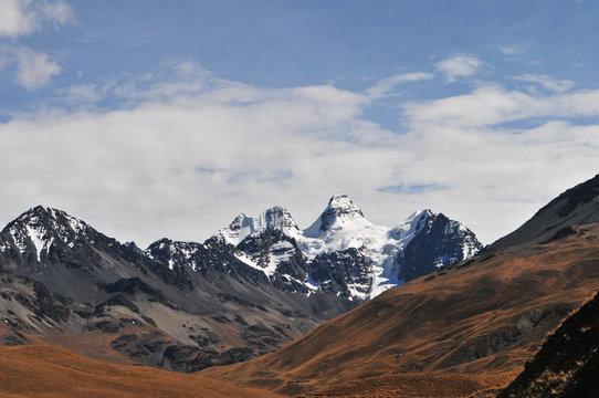 Massif du Condoriri.