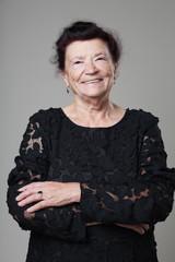 Beautiful retired happy senior woman.