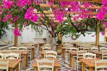 Lungo le strade di Mykonos, Grecia