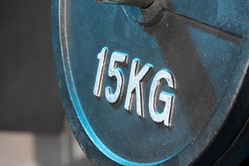 Fitnessstudio 15 Kilogramm