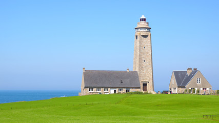 Wall Mural - Lighthouse on Cap Levi, Fermanville.