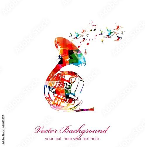 """colorful music background. vector"""" fichier vectoriel libre de droits ..."""