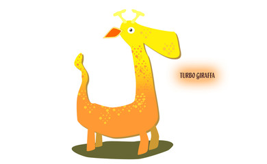 Giraffa - cartone
