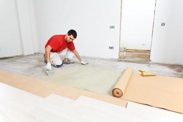 Parquet Floor work with