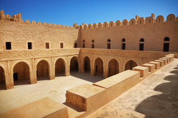Poster de jardin Tunisie Fortress in Sousse, Tunisia