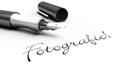 Fotografie! - Stift Konzept