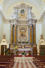 Madonna delle Grazie Sanctuary. Montefiascone. Lazio. Italy.
