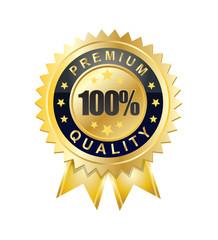 100 percent premium quality