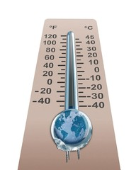 Cold Temperature of the  Earth