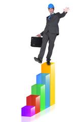 Senior engineer climbing the career ladder