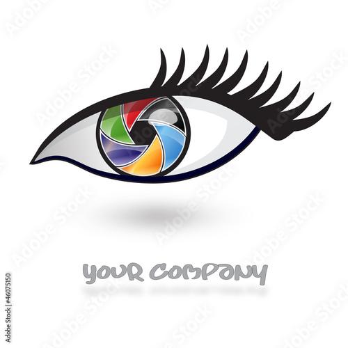 """Photography Company Logo Eye Style #Vector"" Imágenes de ..."