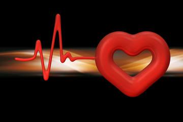 Herz Rate Background
