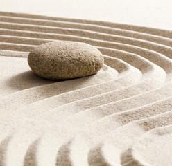 Foto op Plexiglas Stenen in het Zand zen softness