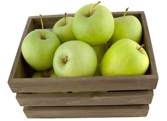 Äpfel mit Kiste VI