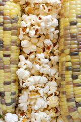 Popcorn and sweetcorn