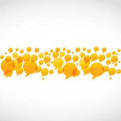 abstract social media concept vector background