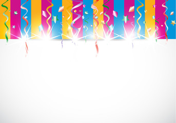 abstract colorful shiny birthday background