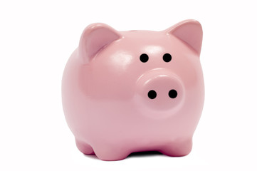 Cute Pink Piggy Bank