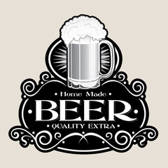 Hand Made BEER /Quality Extra Seal