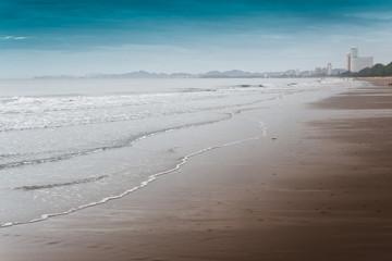 Cha-am Beach.