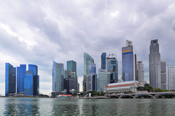 Singapore skyline