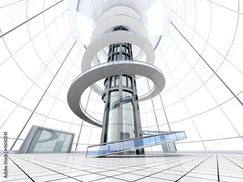 Futuristische architektur stockfotos und lizenzfreie bilder auf bild 46161341 - Futuristische architektur ...