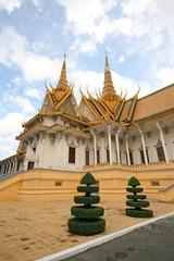 Pavilion at the Royal Palace in Phnom Penh, Cambodia