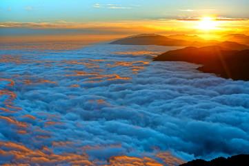 tramonto monte pizzoc 0389