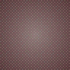 colorful polka dot seamless pattern on brown background.