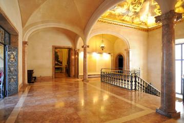 Le palier du palais et musée March à Palma de Majorque