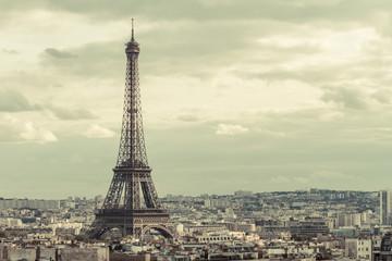 Poster de jardin Paris Tour Eiffel in Paris