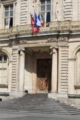 Entrée de la mairie de Lyon