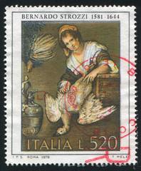 Cook by Bernardo Strozzi