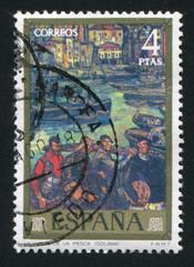 Return of the Fishermen by Gutierrez Solana