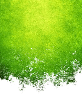 abstract green paint