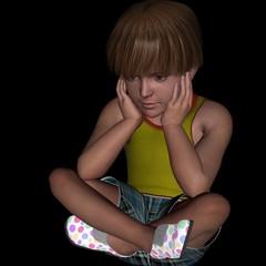 kid sadness