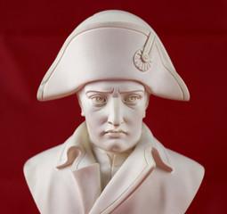 Sculpture portrait en albâtre de  Napoléon Bonaparte