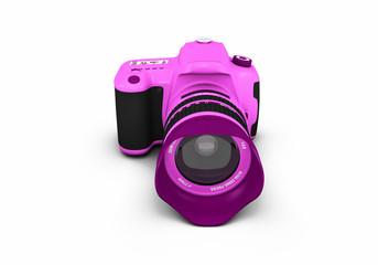 Pink Lady DSLR - Spiegelreflexkamera 360° - 8 von 9