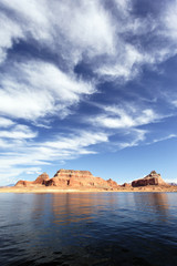 the lake Powell