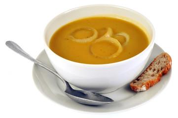 Photos illustrations et vid os de potage l 39 oignon - Soupe a oignon maison ...