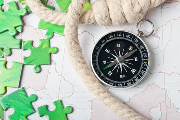 compass and rope