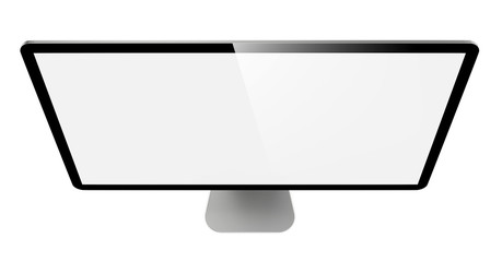 Modern Widescreen Lcd Monitor.