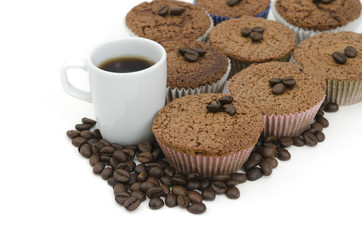 Coffee  and Coffee Muffins
