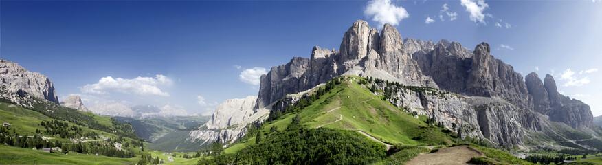 Panoramica sulle Dolomiti