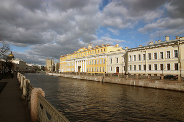 The house in St. Petersburg.