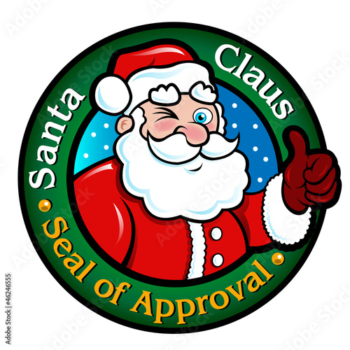 santa claus letter with seal would to quot santa claus seal of approval quot stock image and royalty 944