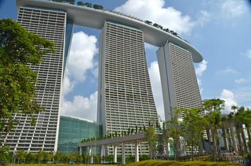 Foto op Plexiglas Singapore Modern Architecture in Singapore