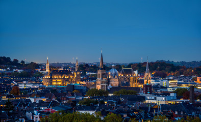 Aachen Night Panorama