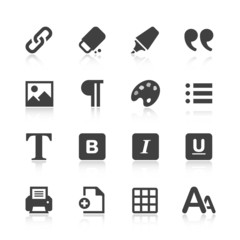 Text Editor Icons