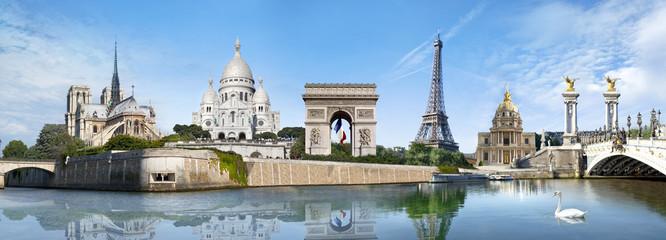 Foto auf Gartenposter Paris Panorama Paris France